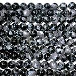Merlinite (Indigo Gabbro) Grade AAA 8mm Round