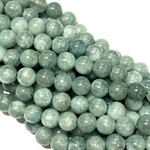 Malaysia Jade Grade A Burma Dyed 6mm Round