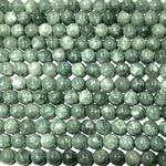 Malaysia Jade Grade A Burma Dyed 8mm Round