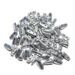 Vexolo® Aluminium Silver 50pcs
