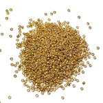 MIYUKI Rocaille 15-0 Duracoat Galvanized Gold 10g