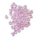 Preciosa Crystal 4mm Bicone Pink Sapphire 144pcs