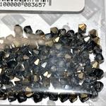 Preciosa Crystal 4mm Bicone Crystal Aurum Half Cut 144pcs