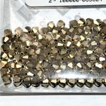 Preciosa Crystal 4mm Bicone Crystal Aurum 144pcs