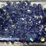Preciosa Crystal 4mm Bicone Tanzanite AB 144pcs