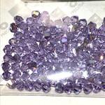 Preciosa Crystal 4mm Bicone Violet AB 144pcs
