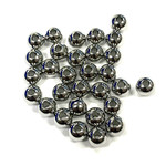 Stainless Steel Spacer Bead 6mm Round 24pcs