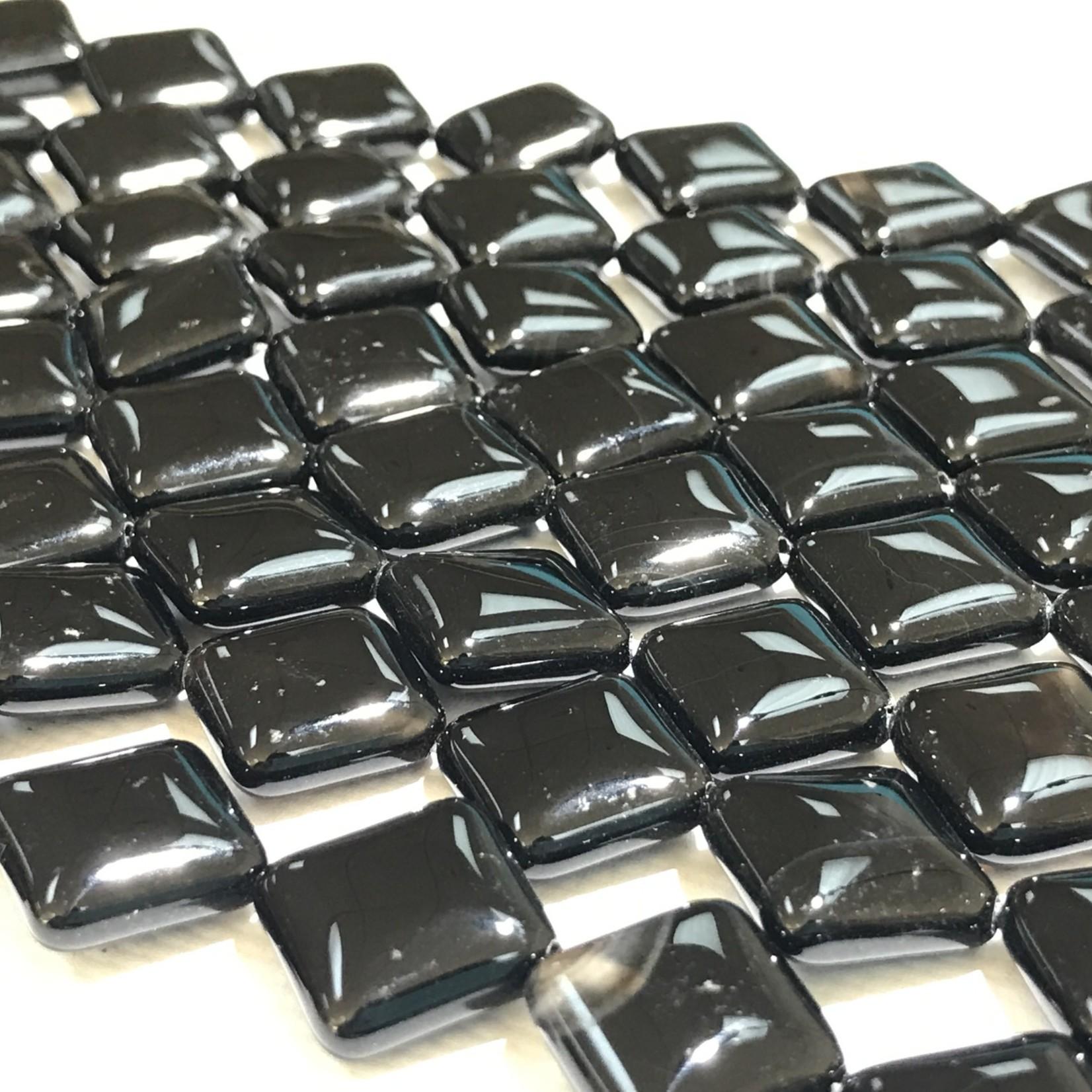 AGATE Dyed Black Diamond 14mm