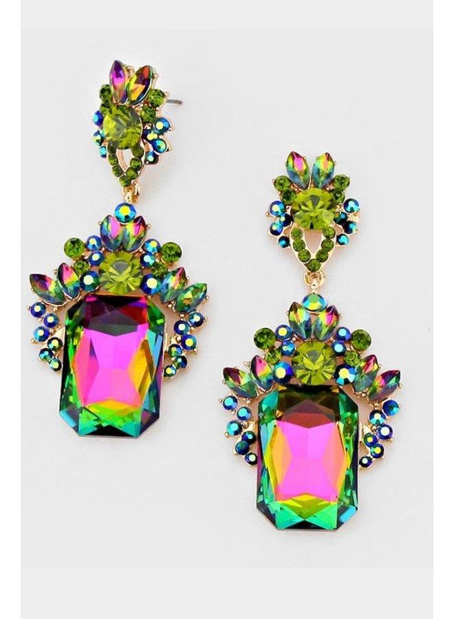 Paradise petal earrings