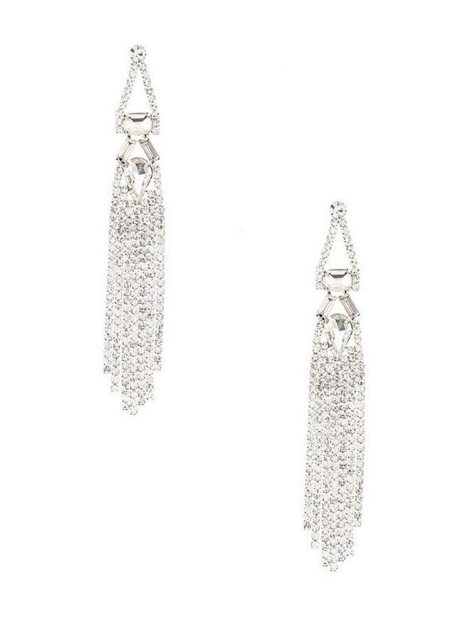 Clear Chandelier Earrings