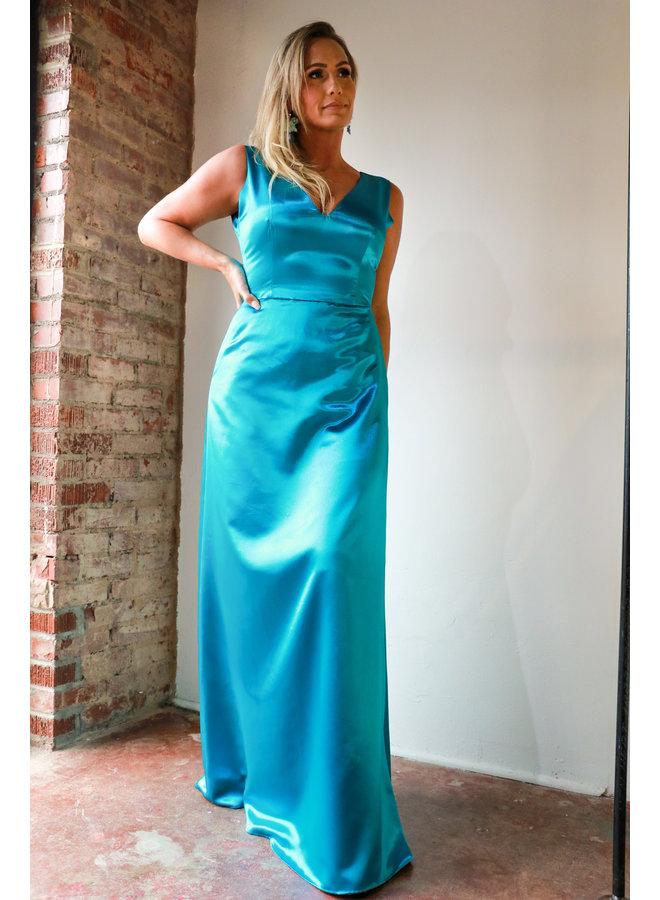 Teal Dreamy Dress