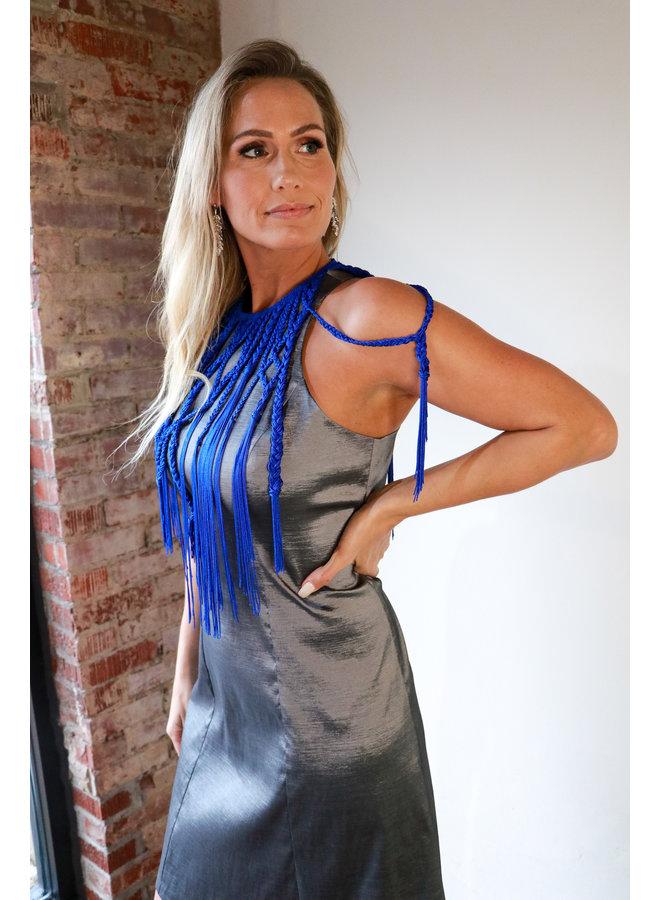 Embellished Stretch Short Dress