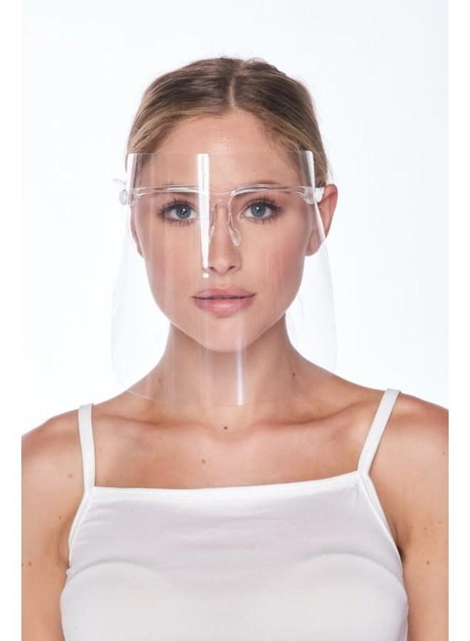 Clear Full Face Shield Protection