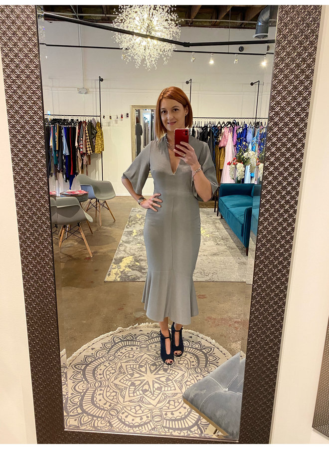 Midi Ruffle Dress