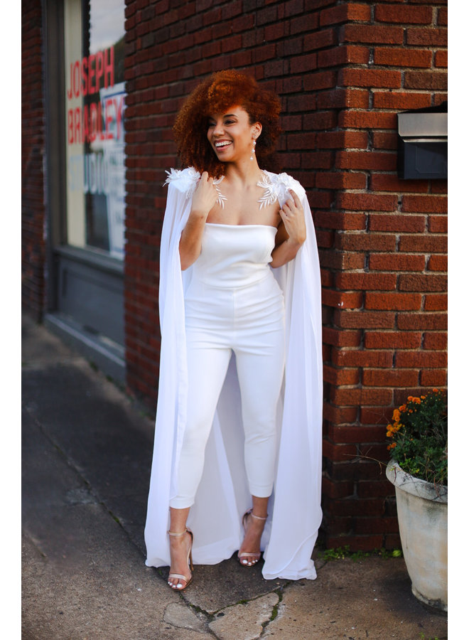 Amelia Bridal Jumpsuit