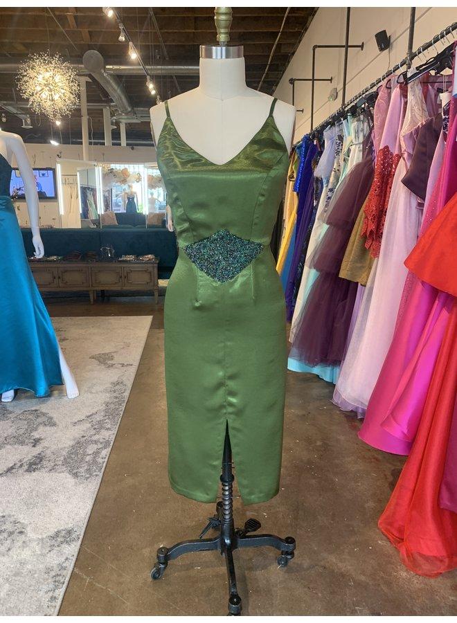Olive Midi Dress