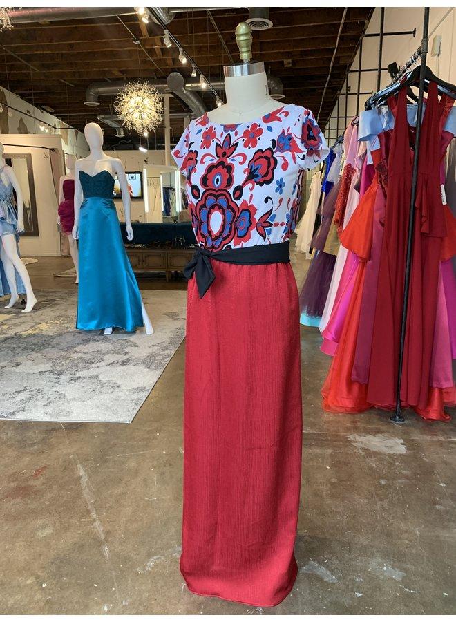 Bamboula Red Dress