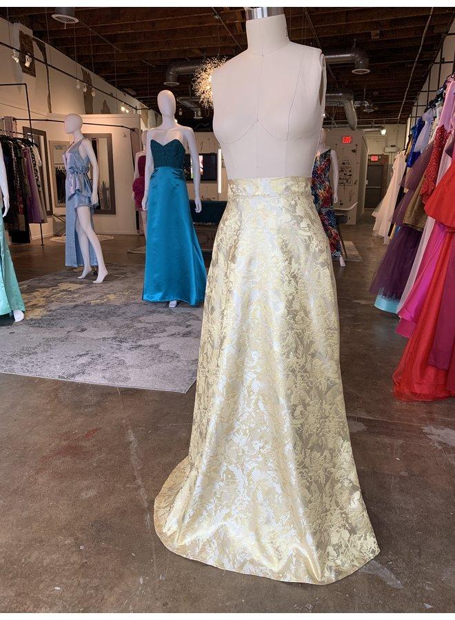Brocade Long Skirt