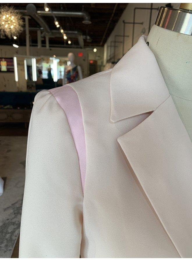 Color Blocking Blazer