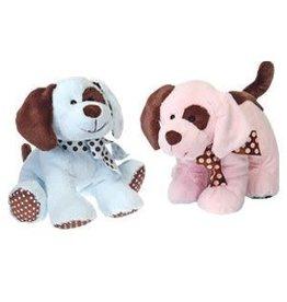Plush Puppy Rattle