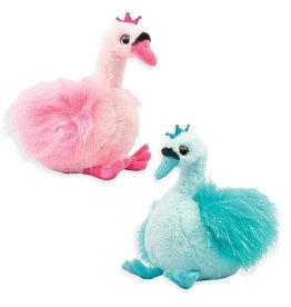Bella Princess Plush Swans