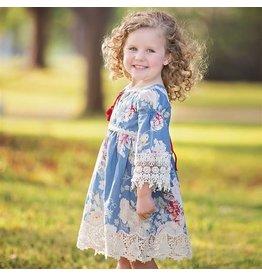 Haute Baby September Song Girl's Dress