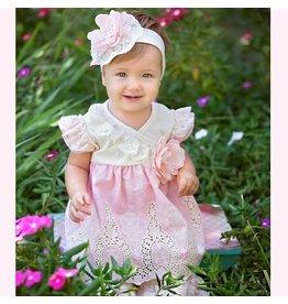 Haute Baby Peach Blossom Pant Set