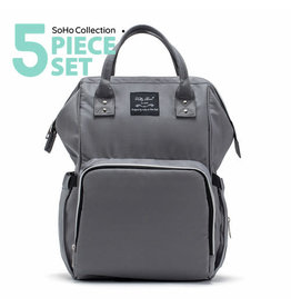 SoHo Collections Metropolitan Backpack Diaper Bag