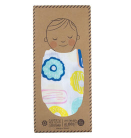 Captain Silly Pants Swaddle Blanket-Single Pack