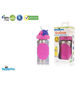 Pacific Baby Pacific Baby Grogrow Toddler Eco Stainless Toddler Bottle