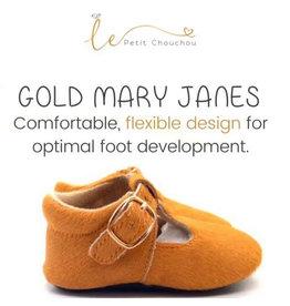 Le Petit ChouChou Genuine Leather Mary Jane Shoes