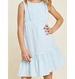 Hayden Los Angeles Blue Cotton Dress
