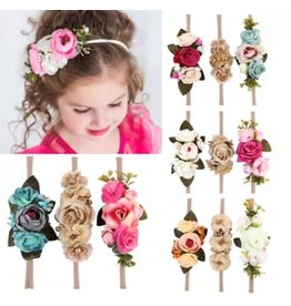 Flower Headband on Nylon