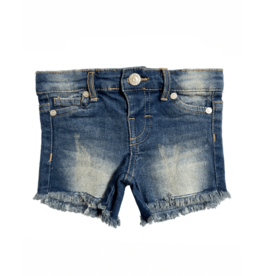Bailey's Blossoms Denim Shorts Vintage Wash