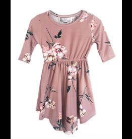 Bailey's Blossoms Harper Dress-Mauve