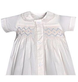 "Remember Nguyen Remember Nguyen ""Sunny"" Christening Gown Blue"
