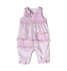 Isobella and Chloe Isobella and Chloe Lavender and Lace Romper