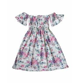 Bailey's Blossoms Bailey's Blossoms Loretta Cold Shoulder Maxi Dress