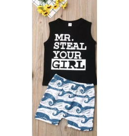 Mr. Steal Your Girl Short Set