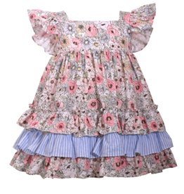 Bonnie Jean Bonnie Jean Spring Floral Dress