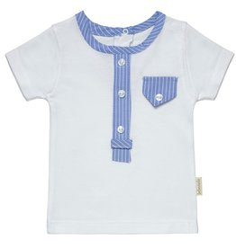 "Aurora Royal Aurora Royal Boy's ""Peter"" Shirt & Bloomers Cotton Outfit"