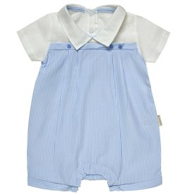 "Aurora Royal Aurora Royal Boy's ""Petit Sam"" Cotton Striped Cotton Shortie"