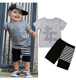 Boy's Crossword Puzzle Short Set