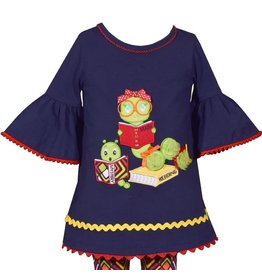 Bonnie Jean Bookworm School Tunic Set
