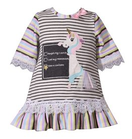 Bonnie Jean Unicorn School Dress