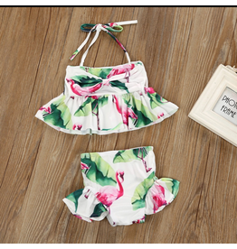 Flamingo Tankini Swimwear