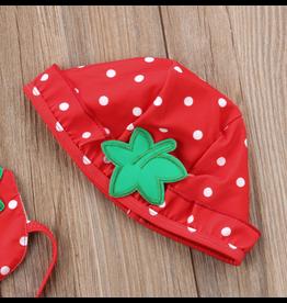 Strawberry Bikini w/Hat