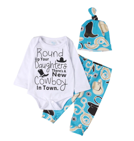 Round Up Your Daughter's 3pc Boy Sets