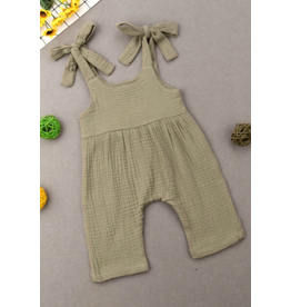 Loose Cotton Baby Romper