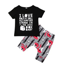 Boys-I Love Rock & Roll Short Set